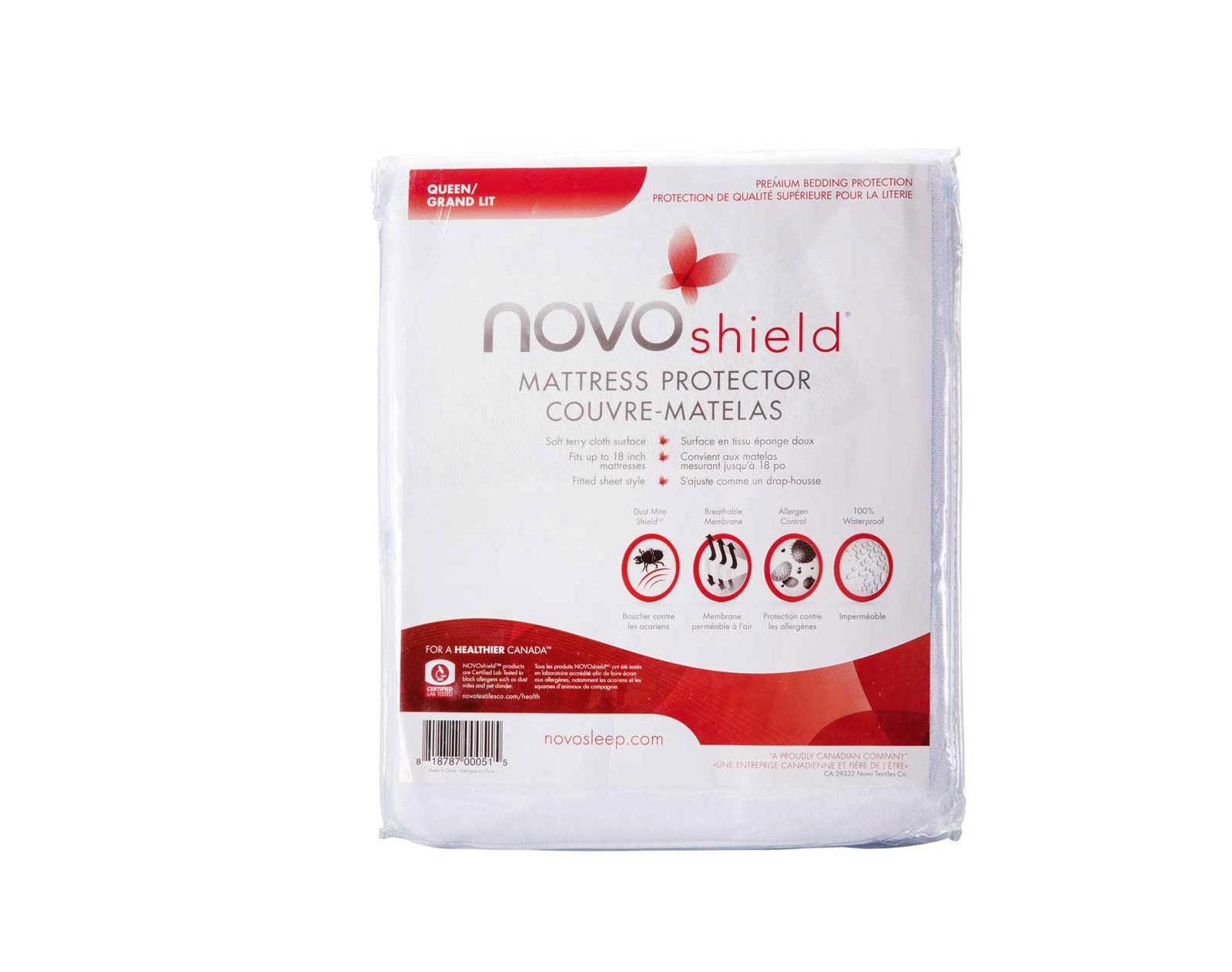 Novo Textiles Co Double NOVOshield Mattress Protector